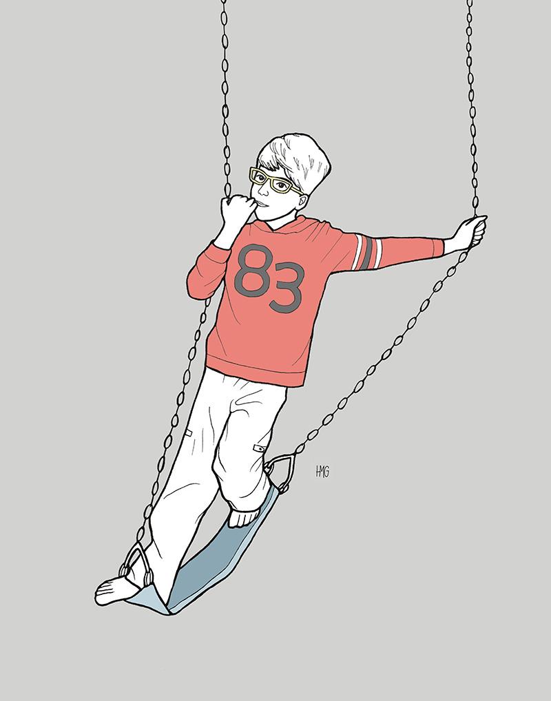 How He Swings